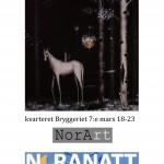 Nattskog. Utställning av Alexander Johnsson. Noranatt 2015.